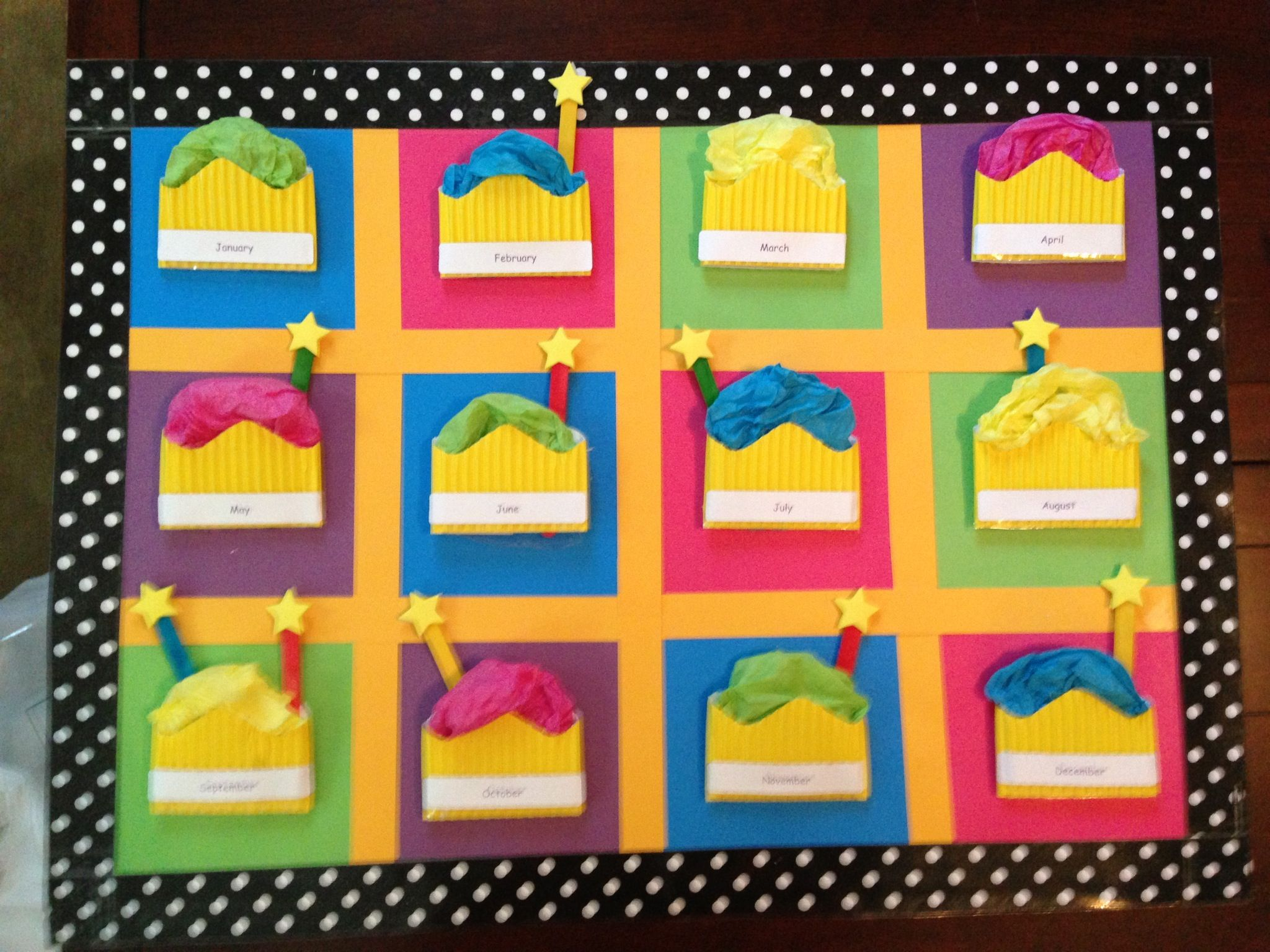 Innovative Birthday Charts For Classroom : Birthday chart preschool pinterest charts