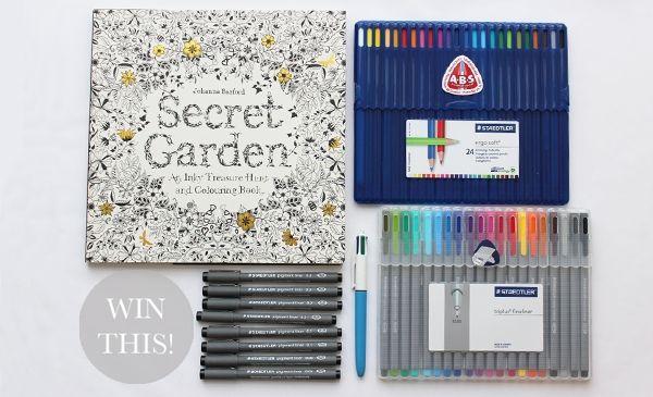 Blog Johanna Basford Secret Garden Coloring Book Colored Pencil Coloring Book Coloring Books