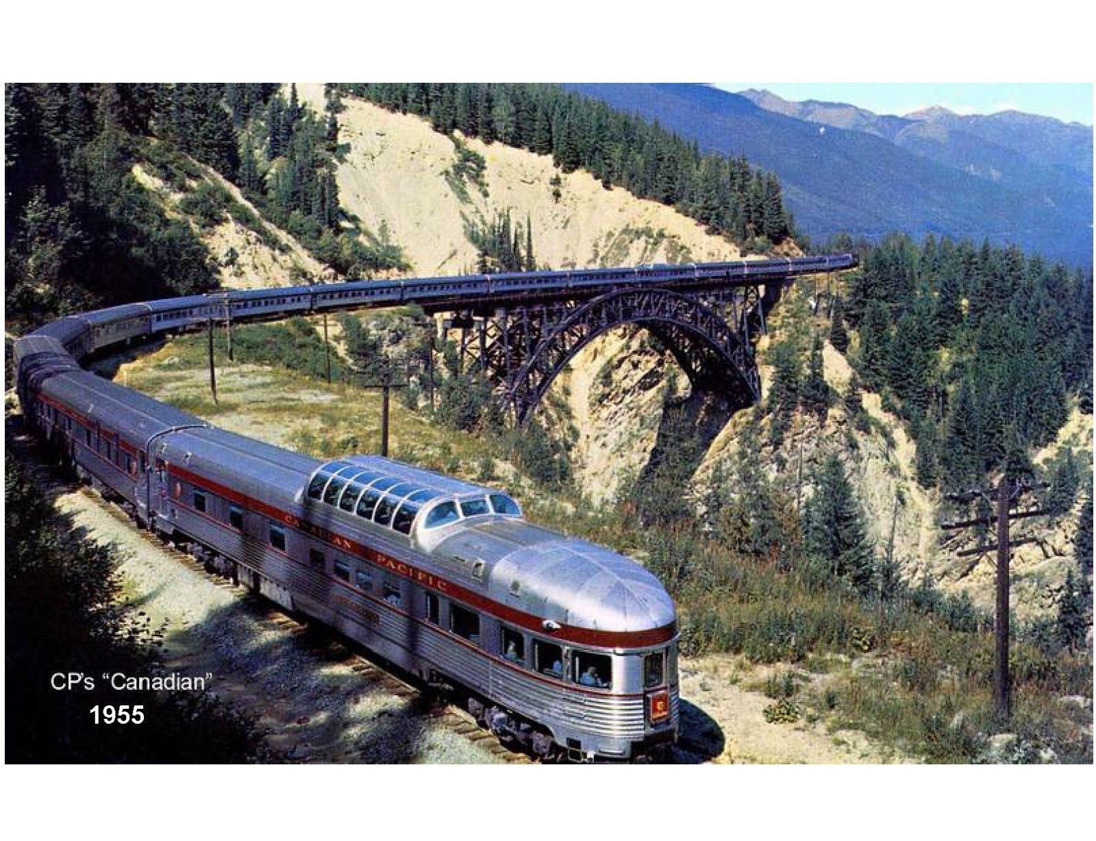 5.5 1955 Canadian Pacific Train Refrigerator / Tool Box