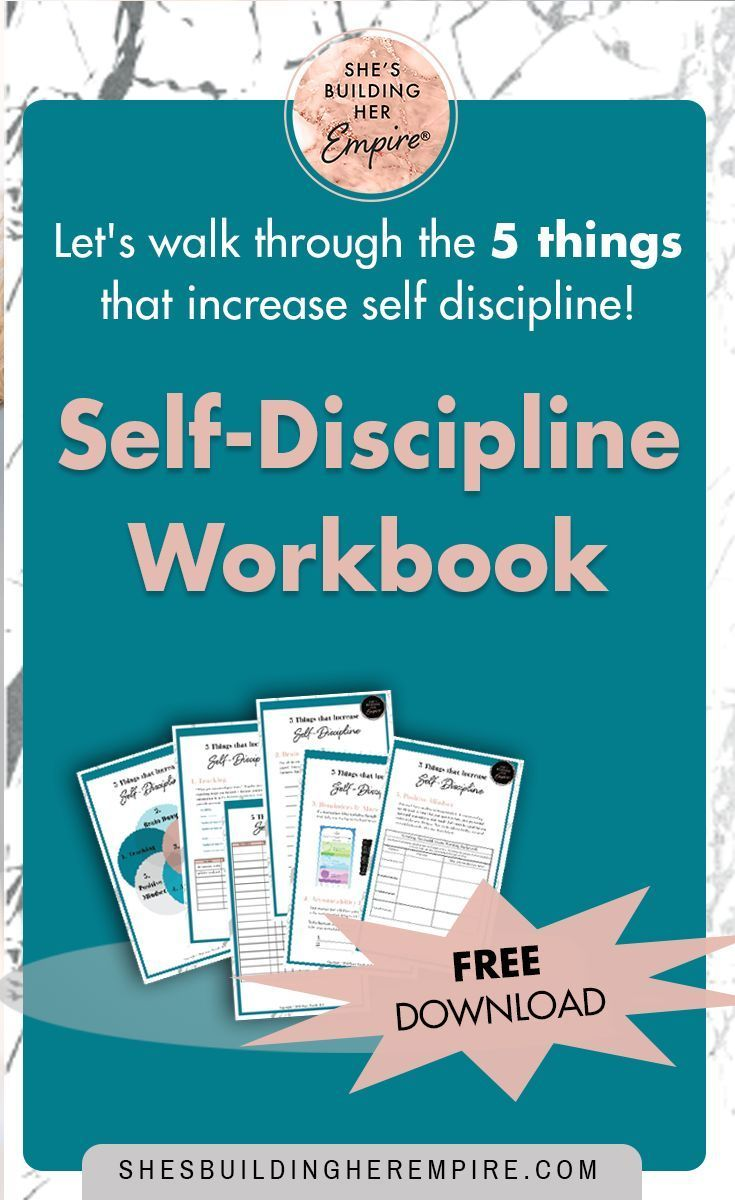 Self-discipline is the secret to getting things done and achieving all of  your big