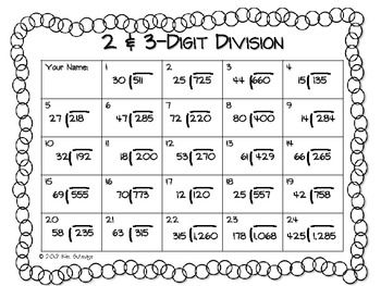 math worksheet : christmas division worksheets 5th grade  worksheets : Division And Multiplication Worksheets For 5th Grade