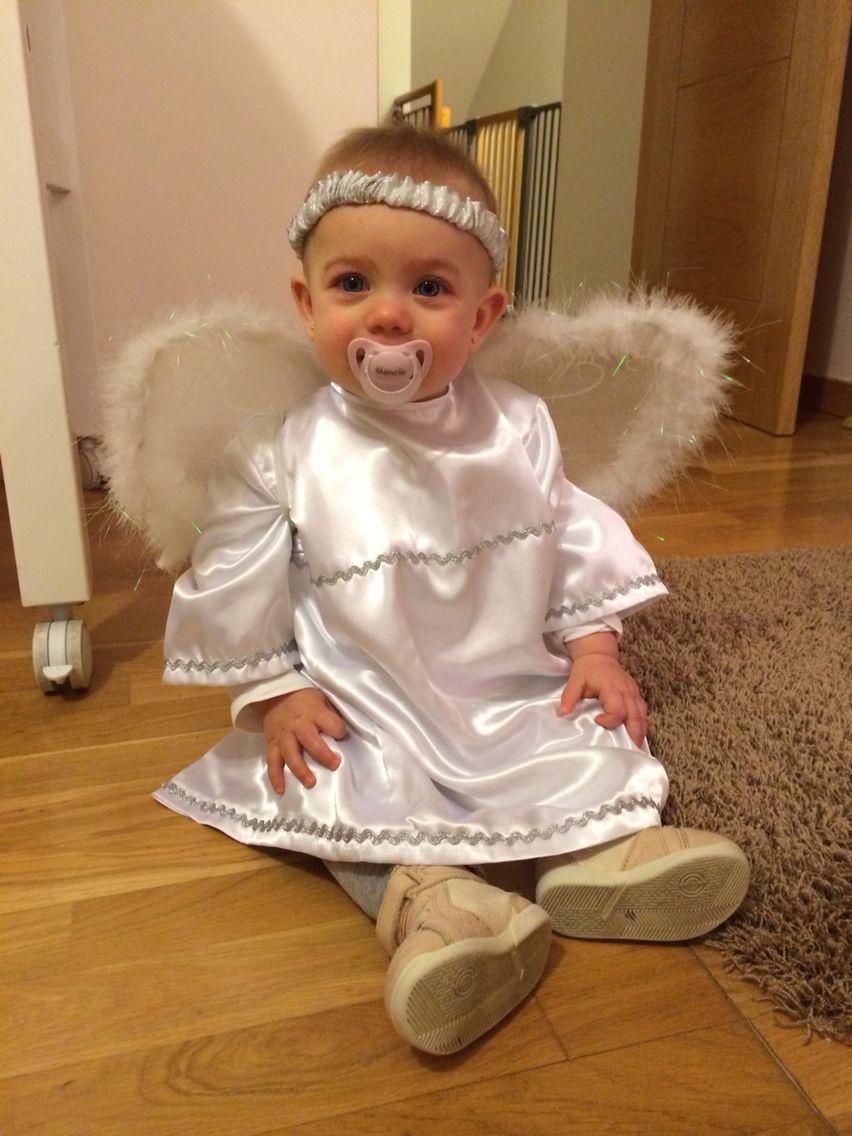 Disfraz Angelito Casero Navidad Disfraz De Angelito Disfraz Niño Navidad Disfraz Bebe