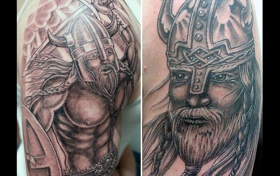 Long seattle tattoo viking tattoos love art
