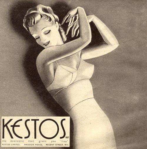 vintage lingerie ad, lovely.