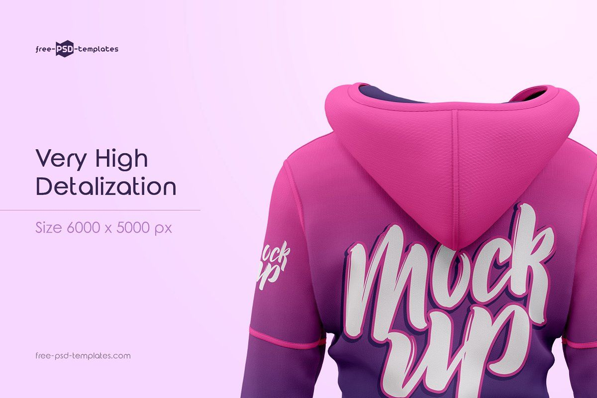 Download Women S Hoodie Mockup Set Hoodie Mockup Branding Template Logo Design