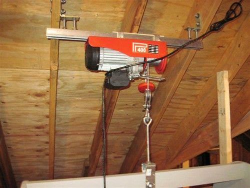 Diy attic lift greenbuildingtalk greenbuildingtalk for Diy structural insulated panels