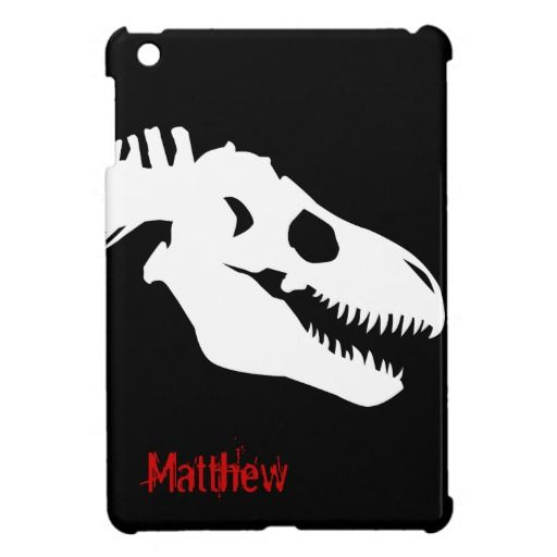 Tyrannosaurus Rex Bones Personalized Cover For The iPad Mini | Zazzle.com #tyrannosaurusrex