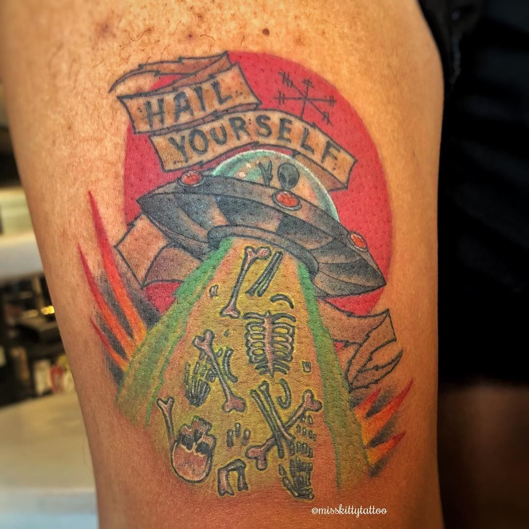 Last podcast on the left tattoo by miss kitty golden