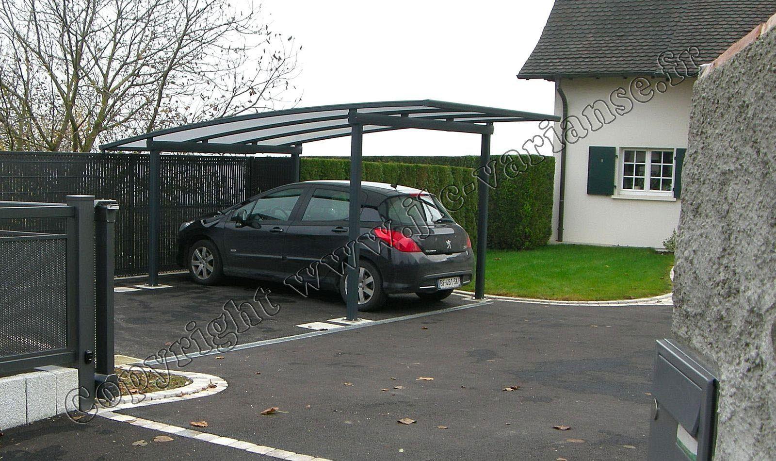 Carport aluminium Appenthal, abri pour voiture Carport