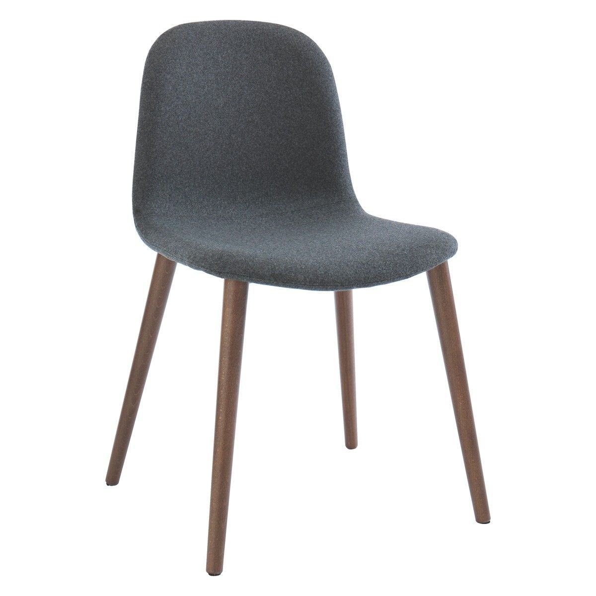 bacco grey upholstered dining chair | grey upholstered dining