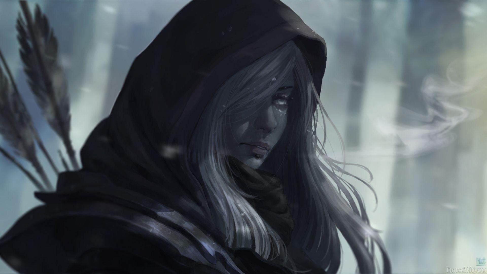 Image Result For Dota 2 Drow Ranger Wallpaper Hd Dark Elf