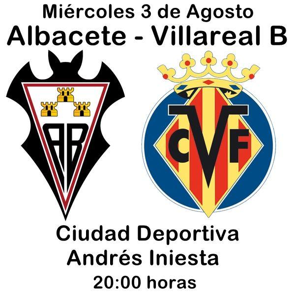 ALBACETE - VILLAREAL B ESTA TARDE EN LA CIUDAD DEPORTIVA   Futbol Noticias deportes