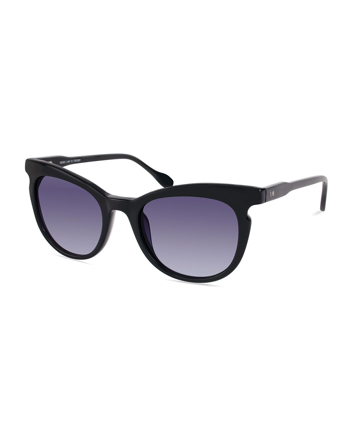 932ccf7ca67 Derek Lam 10 Crosby Marrakech Rounded Square Acetate Sunglasses ...