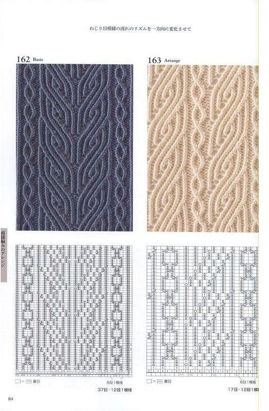 Detailed en 2 agujas | Knit | Pinterest | Dos agujas, Tejido y Puntadas