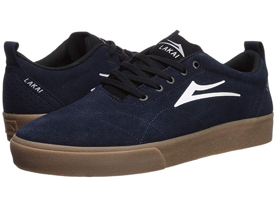 Lakai Bristol Men's Skate Shoes Navy