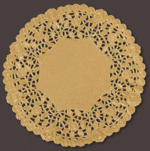 10 Gold Foil Lace Doily 500 Case In 2020 Lace Doilies Doilies Silver Foil