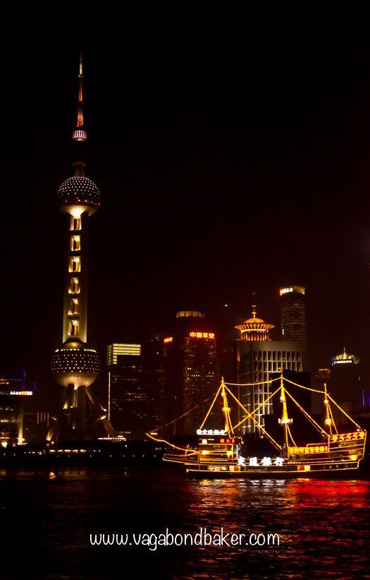 Shanghai at night | China