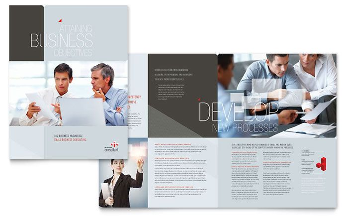 Corporate Business Brochure Design Template By Stocklayouts Work