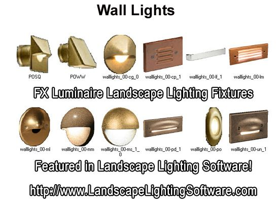 Fx luminaire wall lights featured in landscape lighting design fx luminaire wall lights featured in landscape lighting design software mozeypictures Images