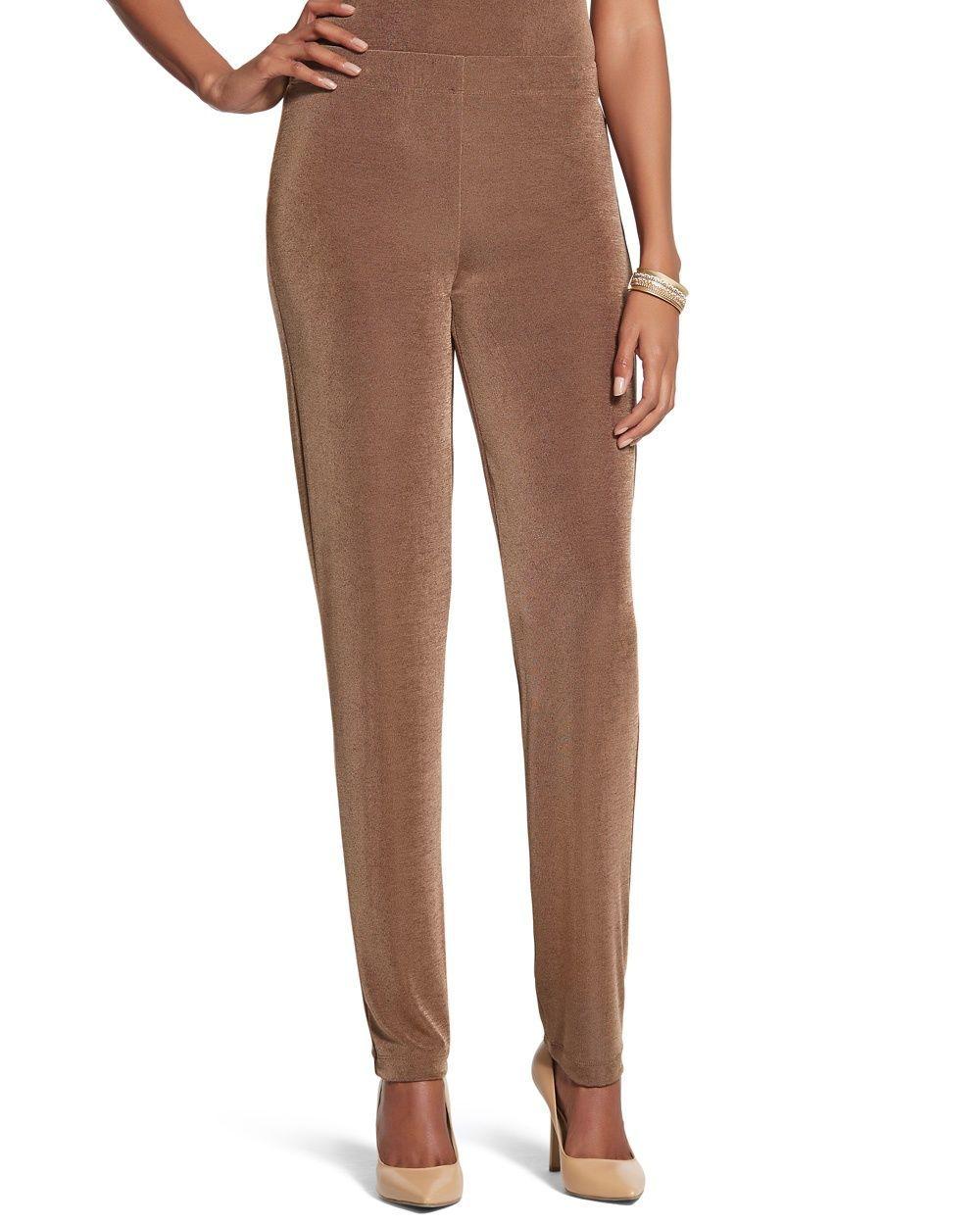 6f25aca113 Chico s Women s Travelers Classic Essential Slim Pants in Heather Jasp