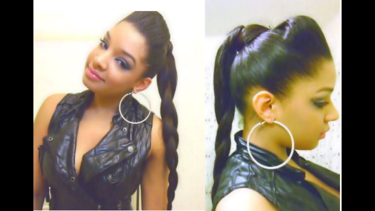 Hi! Please check out our new Long Hair Tips post (Bump Hair Braid Ponytail Hairstyle Tutorial ...