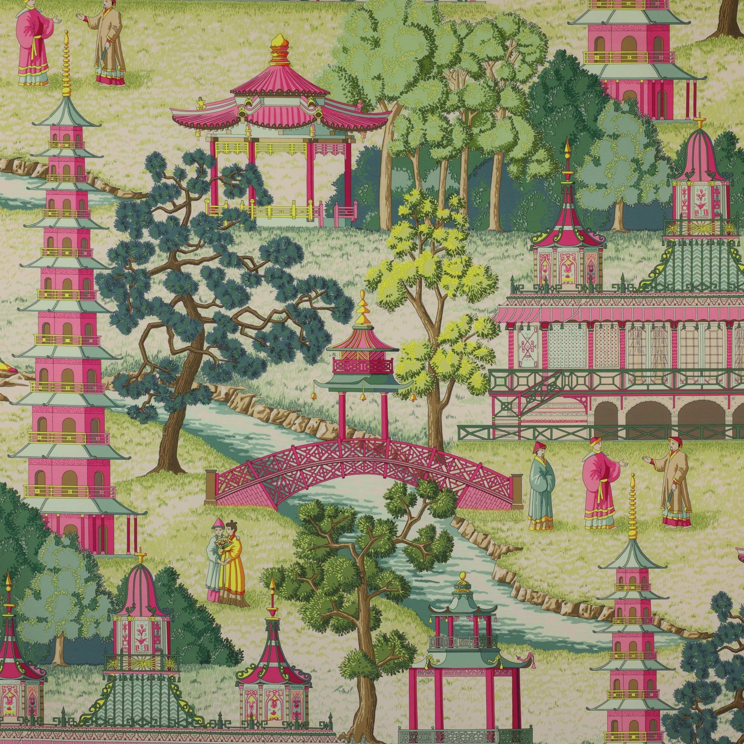 Pagoda Fabric Cowtan Design Library Fabrics