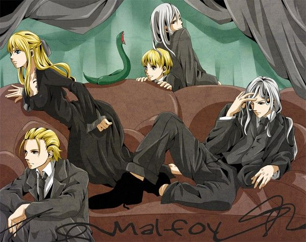 Harry Potter Series Abraxas Malfoy Character Draco Malfoy