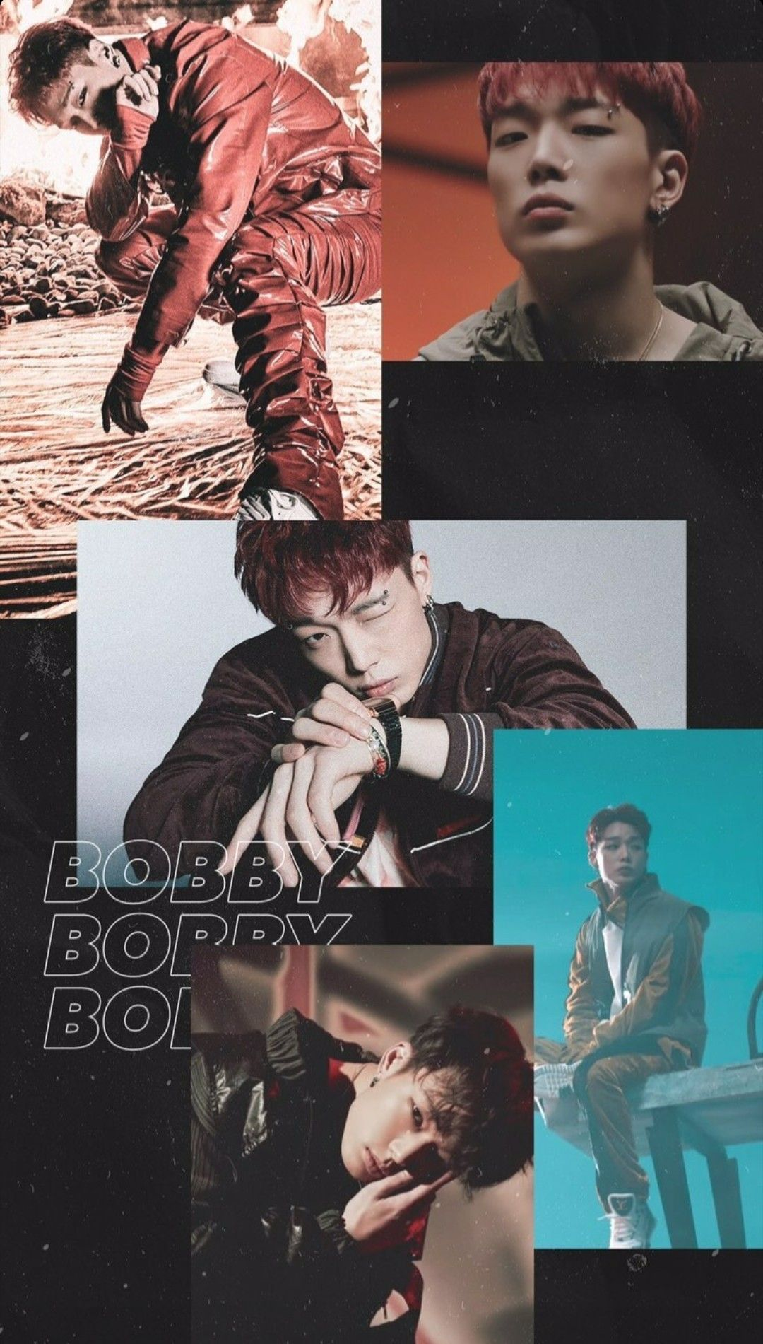 JIWON / BOBBY - iKON