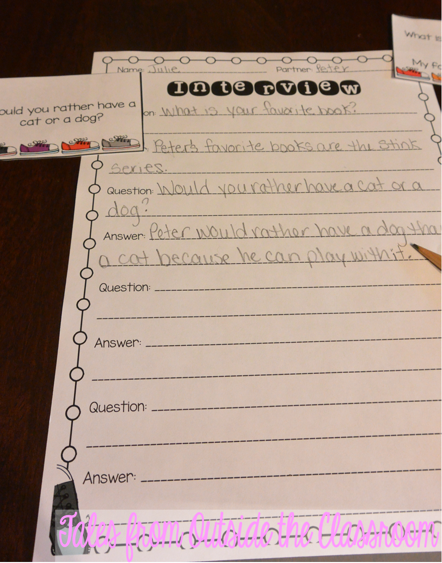 medium resolution of Ideas to help kids Restate the Question in the Answer   Teaching writing
