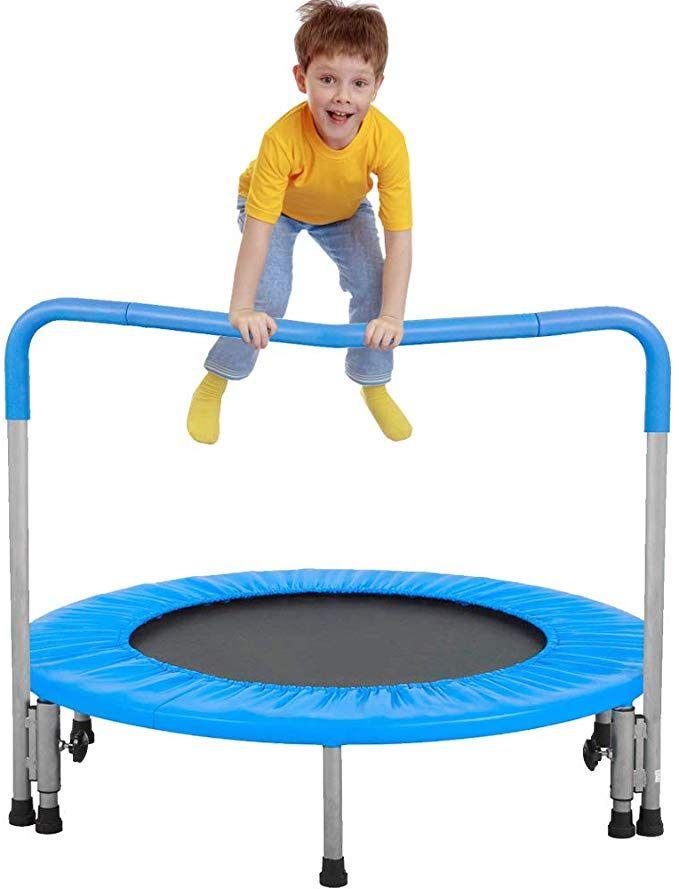 Best Amazon Com Dkeli Mini Trampoline For Kids And Adults 36 400 x 300