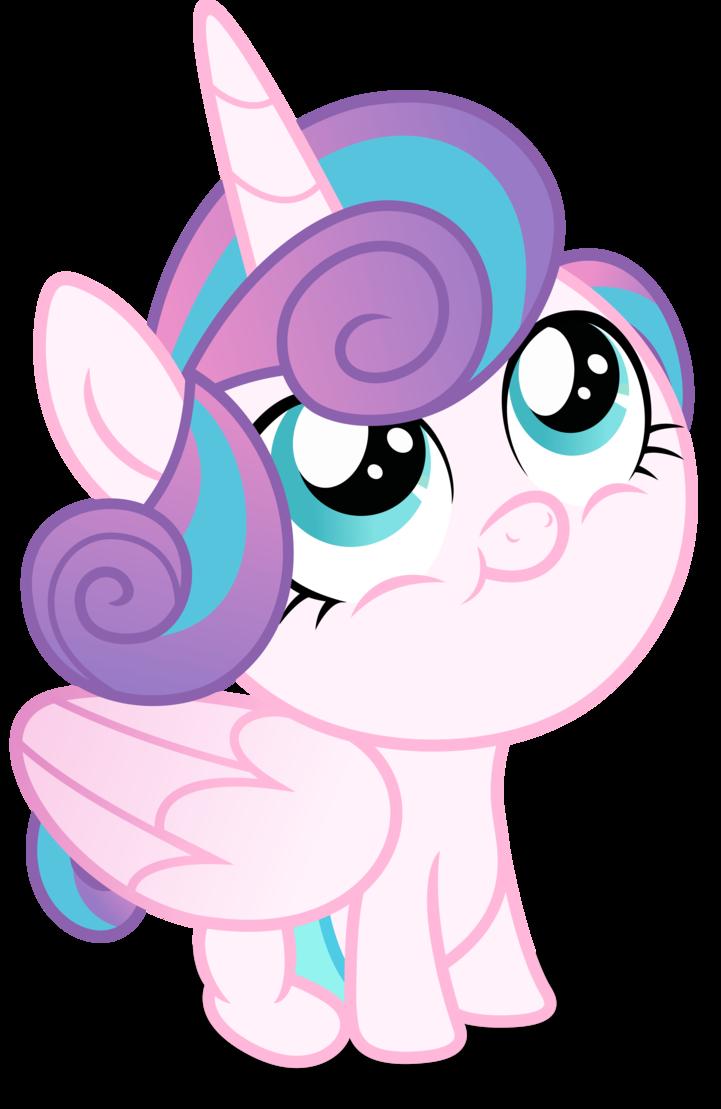 mlp fim flurry heart happy vector by luckreza8 my little pony