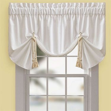 Regalia Sail Tie Up Window Valance By Croscill Valance Bed Bath