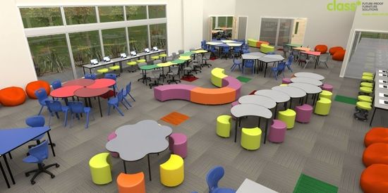 Modern Kindergarten Classroom Design : Image result for modern learning environment meeting