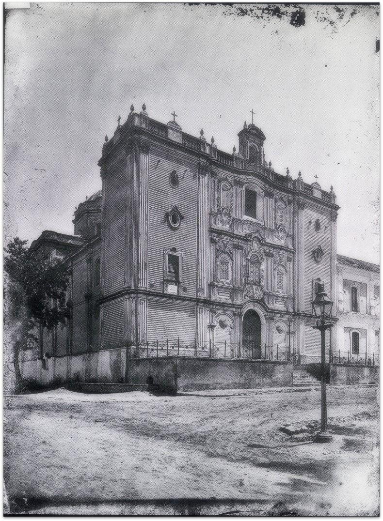 Catedral De Huelva Imagen De La Iglesia Sin Las Espadanas La