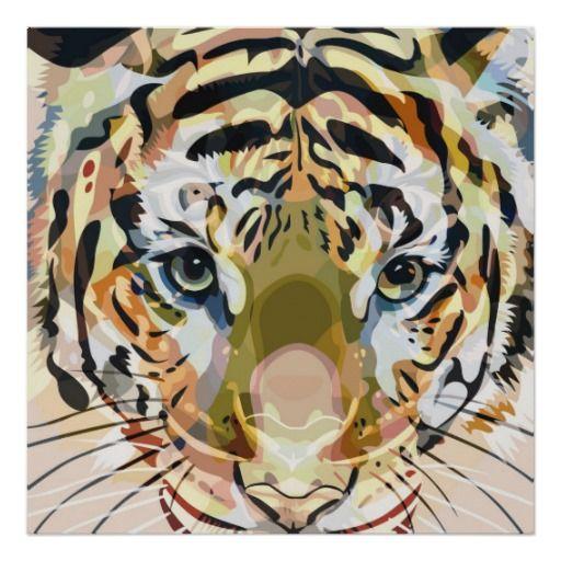 Tiger Mix #1 - Poster