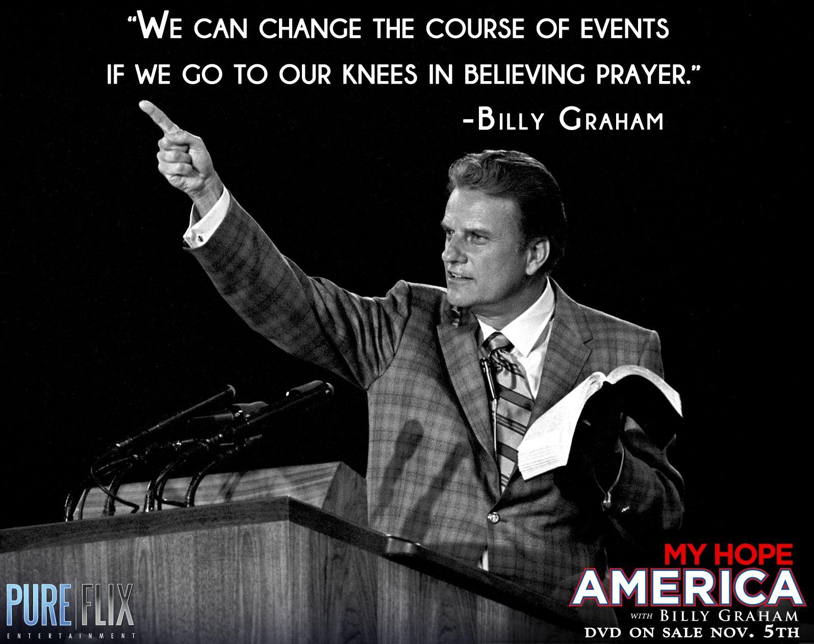 Watch Christian Movies 24/7 | PureFlix.com | Billy graham quotes, Billy  graham, Christian quotes