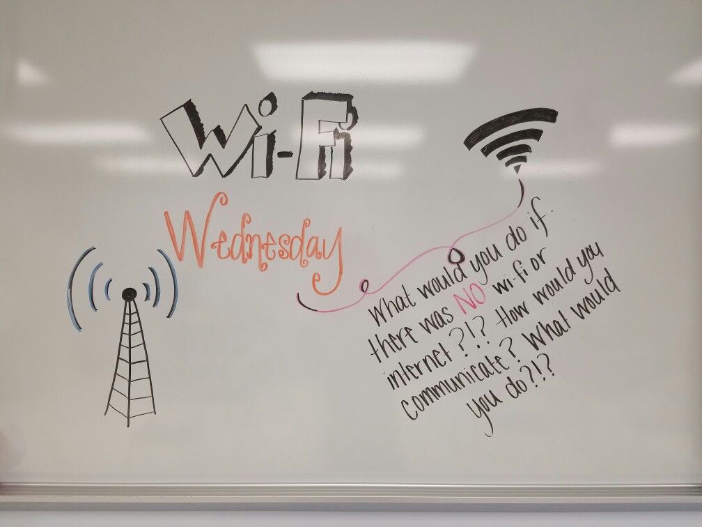 Wifi Wednesday Morning Meeting Class