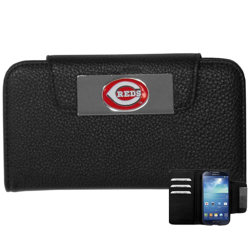 Cincinnati Reds MLB Samsung Galaxy S4 Wallet Case