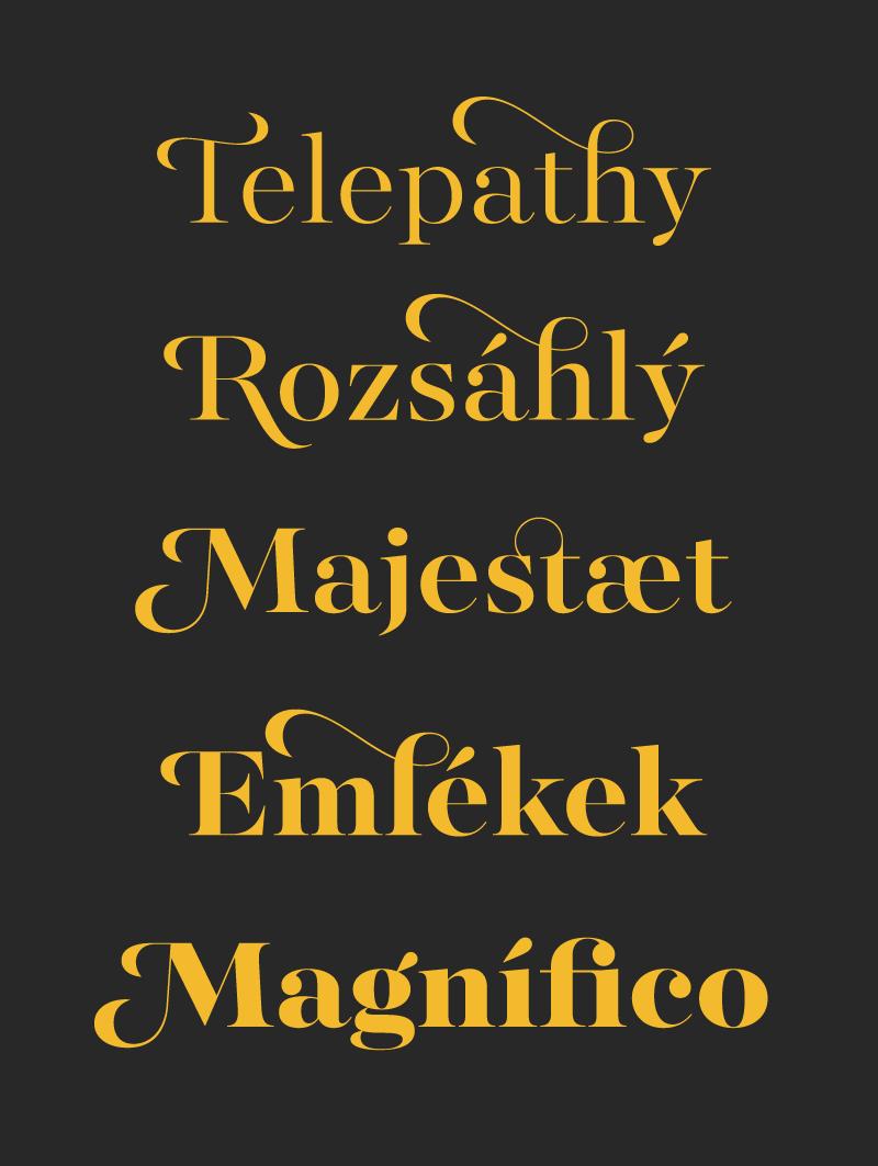 majesti banner font