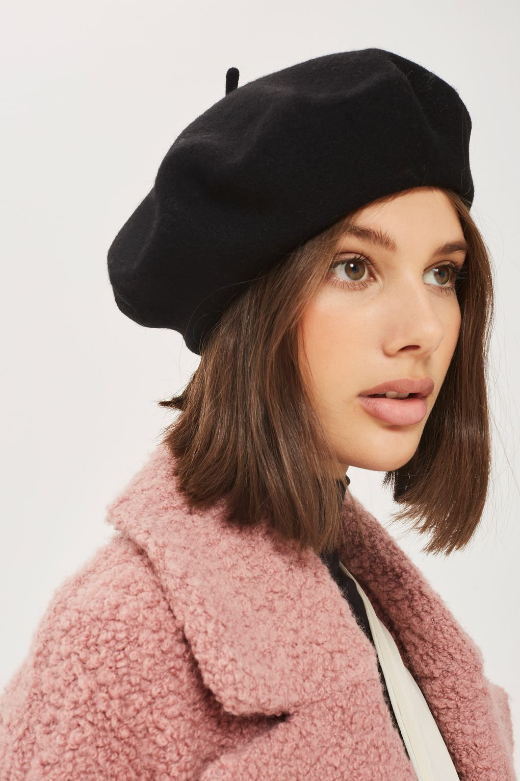 6bfdbc796 Classic Beret Hat in 2019 | klasikuri | Beret outfit, Outfits with ...