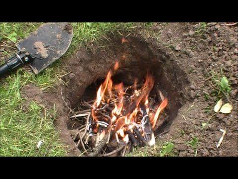 How To Make A Dakota Fire Hole Dakota Fire Hole Dakota Fire