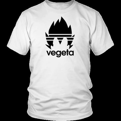 Super Saiyan Vegeta Adidas Symbol Custom,Men's Gildan T-shirt ...