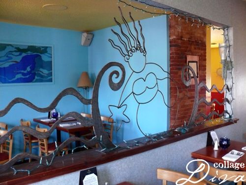 Our beautiful private dining room at The Blue Mermaid! Perfect for your private party!