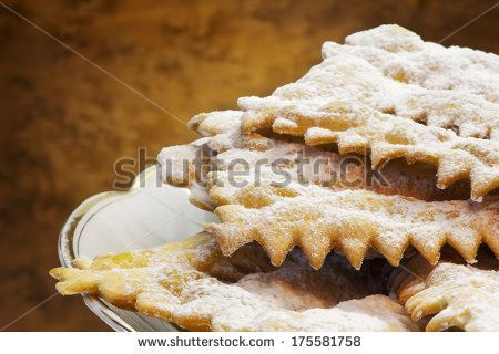typical italian carnival cookies by Donatella Tandelli, via Shutterstock