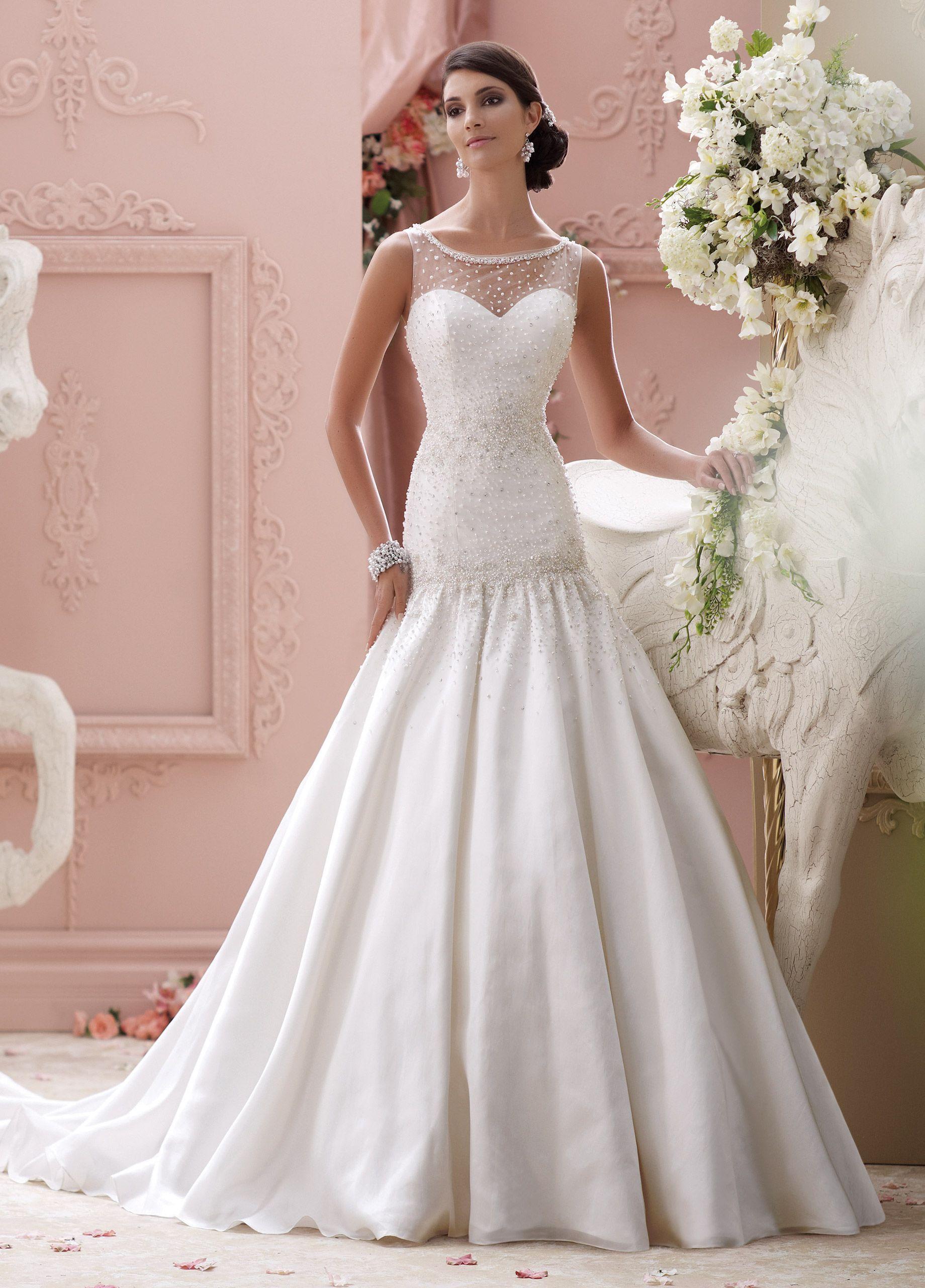 Trumpet style wedding dresses  Unique Wedding Dresses Spring   Martin Thornburg  Trumpet