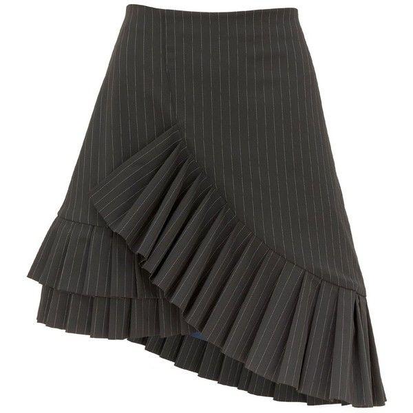 Carmen Black Pinstripe Frill Skirt Finery Cheap Sale Get Authentic Reliable Cheap Online Lrkor