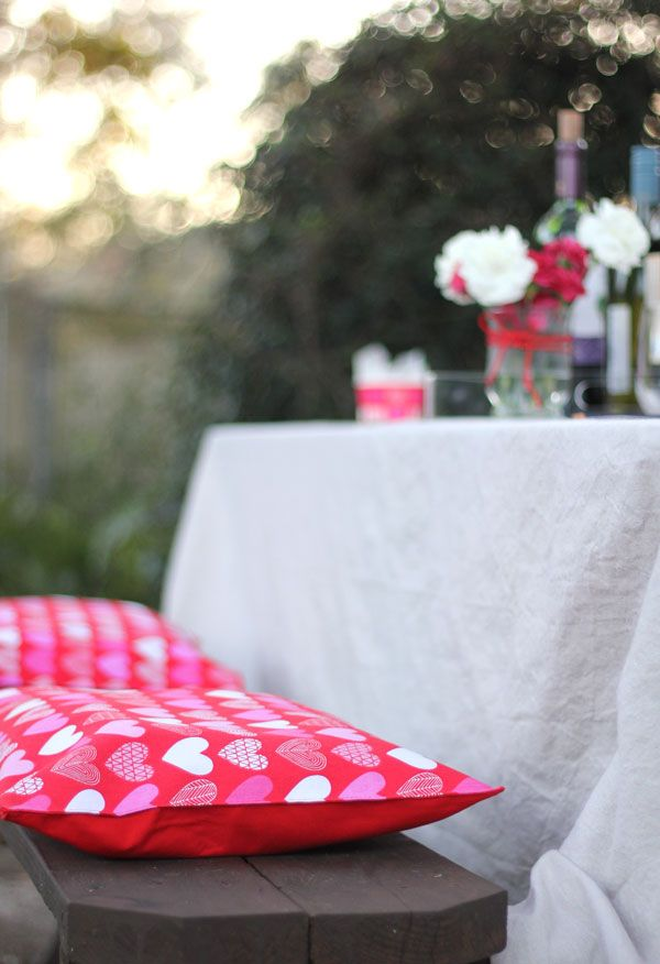No-Sew Outdoor Seat Cushions | Pinterest | Patio seat cushions ...