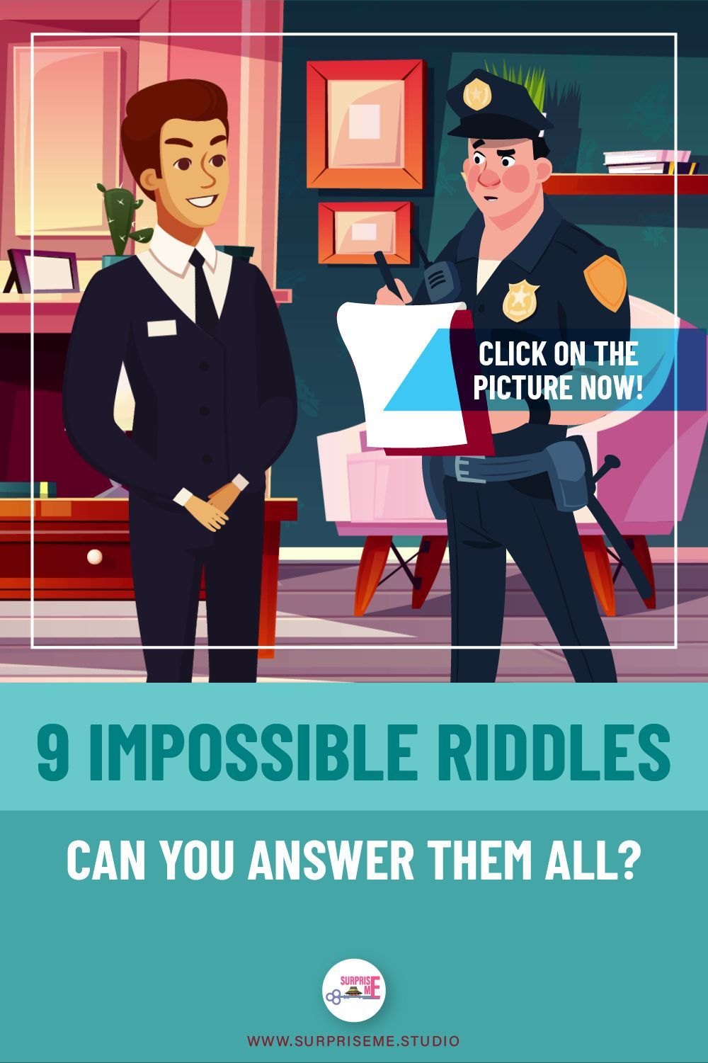 9 Impossible Riddles Can you answer them All? in 2020