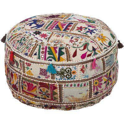 Mistana Lorna Pouf Pouf Ottoman Decor Ottoman
