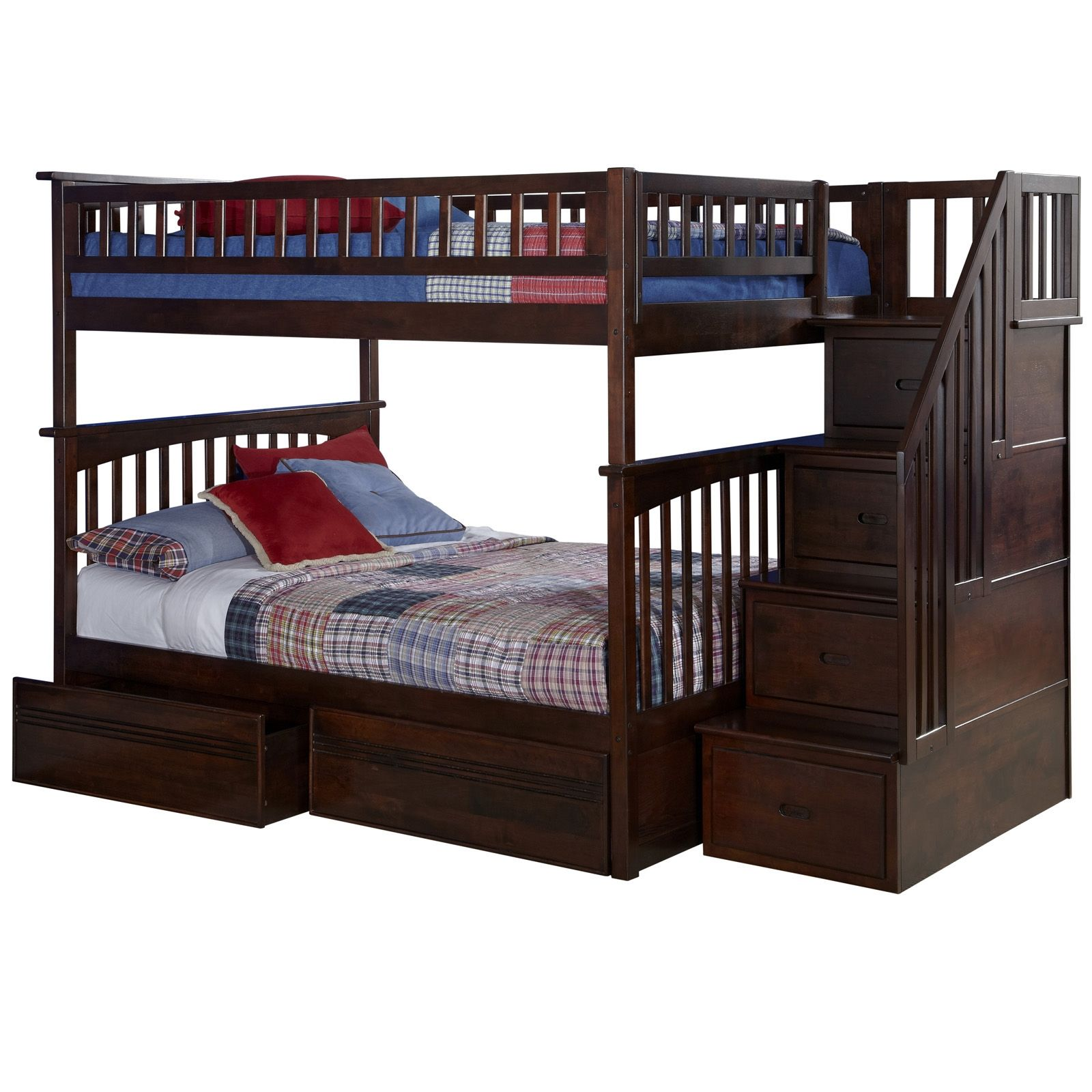 cambridge bed bernie and staircase beds bunk stairs drawers innovations phyl s with